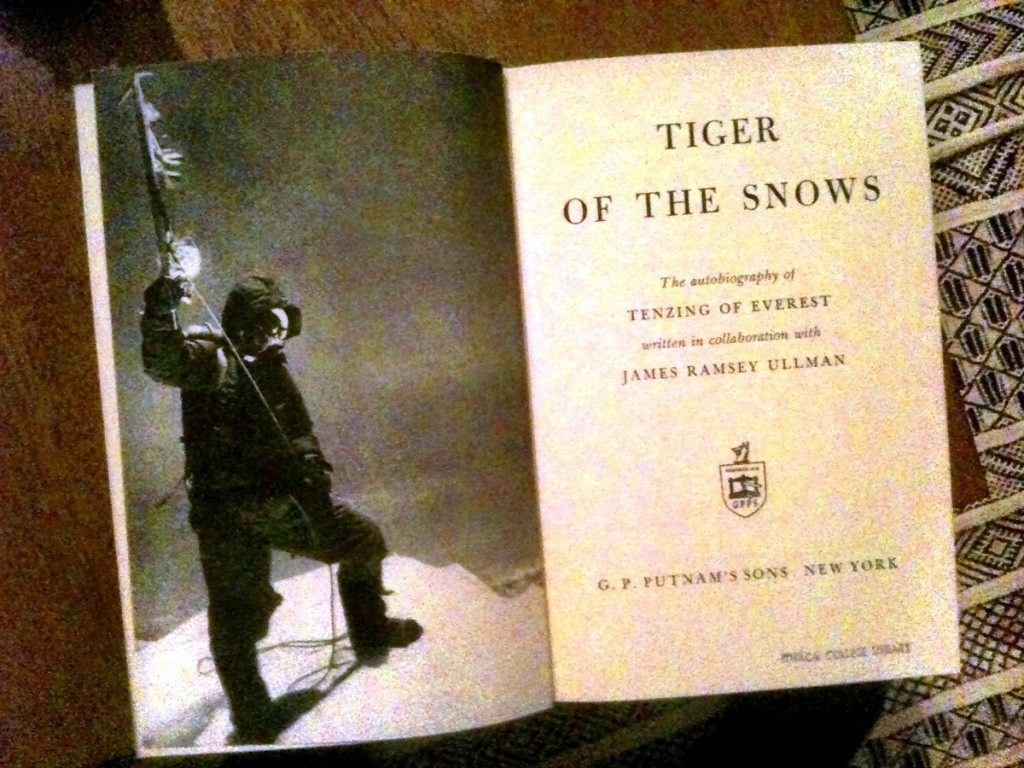Tiger of the Snows, Tenzing's autobiography is well worth reading