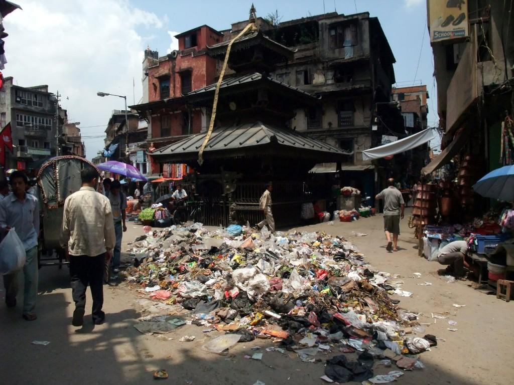 Kathmandu: a cheaper place to live than London