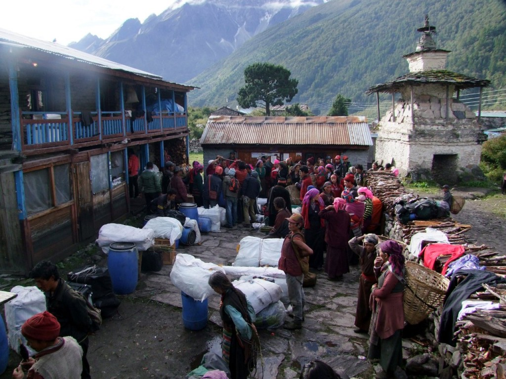 Mountaineering expeditions in Nepal provide many employment opportunities