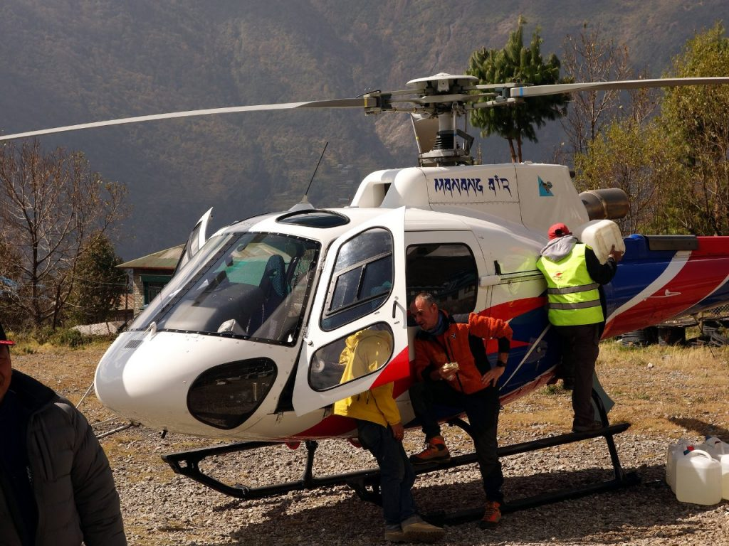 Helicopter rescue has become big business in Nepal