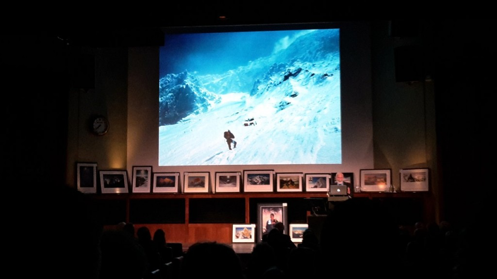 Sir Chris Bonington introduces a view of the Western Cwm