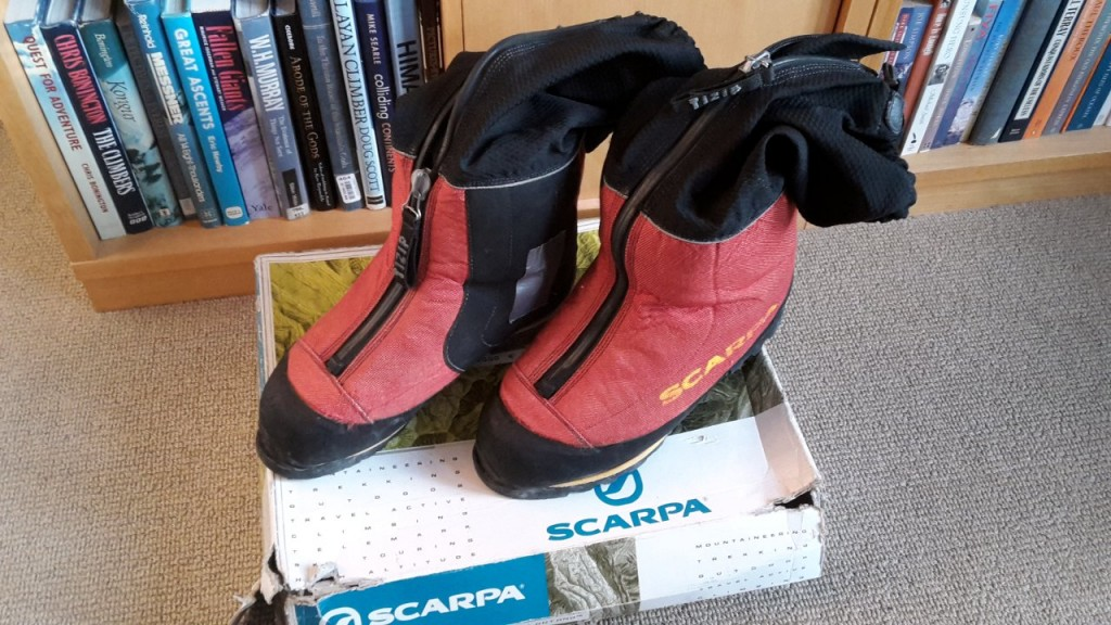 Scarpa Phantom 8000 mountaineering boots