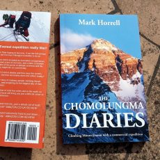 The Chomolungma Diaries now available as a paperback