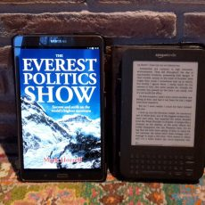 My new diary The Everest Politics Show is out tomorrow!