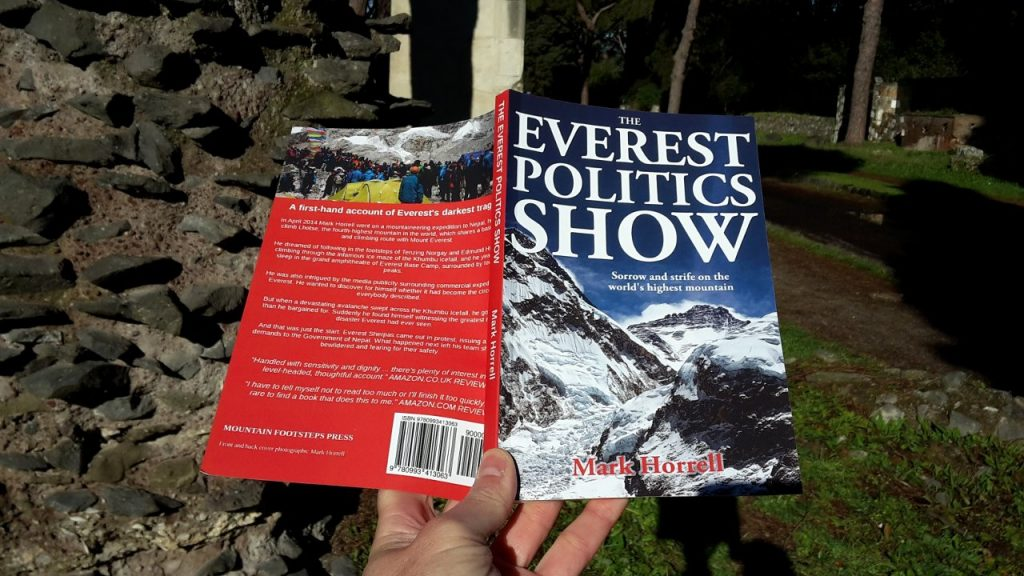 The Everest Politics Show: Sorrow and strife on the world's highest mountain, out now in paperback format