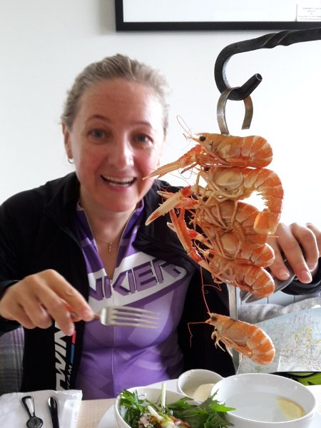 Kylesku will always be memorable for the langoustines Edita had for lunch