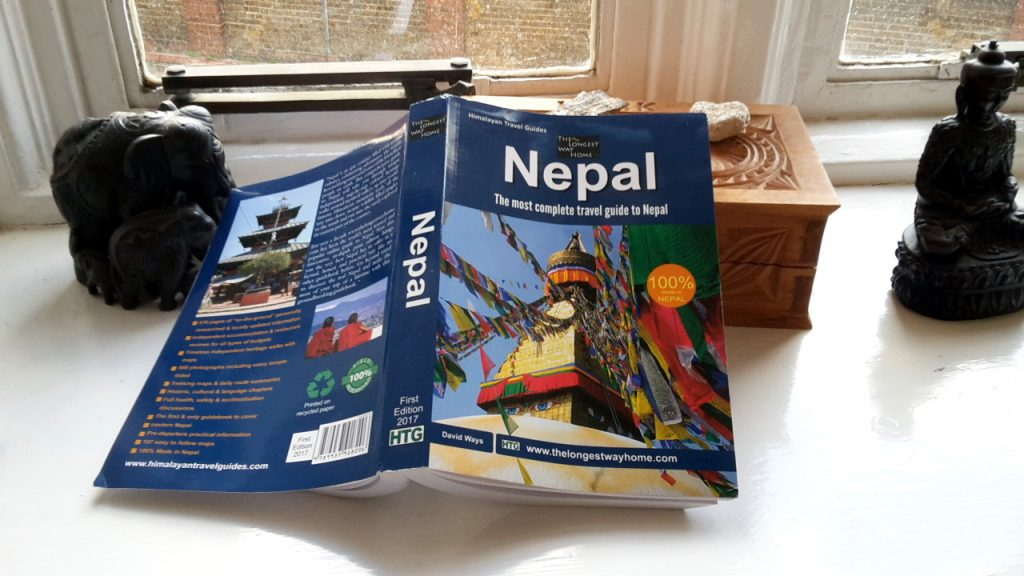 The best guidebook to Nepal (Buddha and elephant statuettes not included)