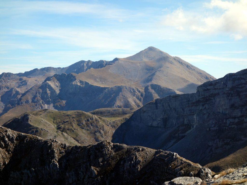Monte Velino from Monte Morrone