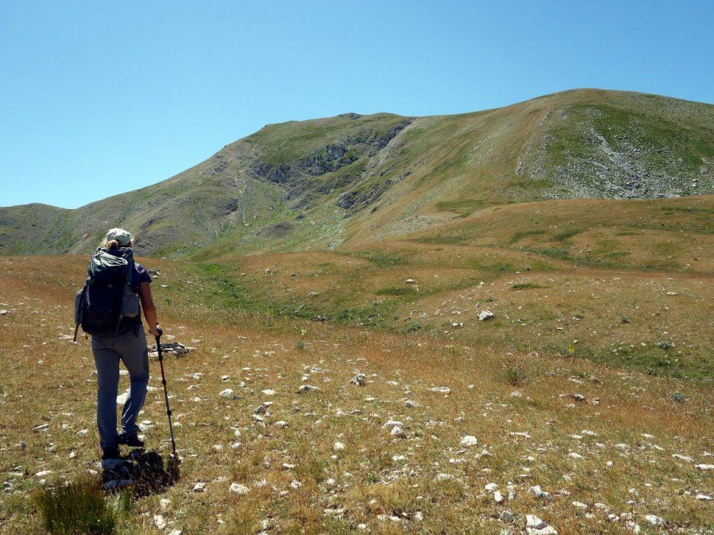 Approaching Monte della Corte from the north