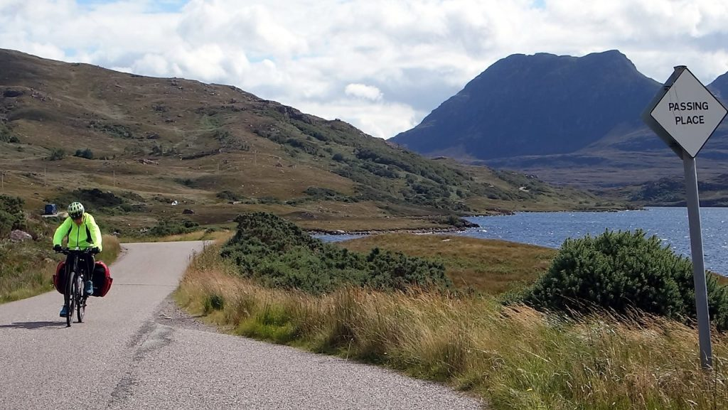When travelling in north-west Scotland, it's important to know how to use passing places