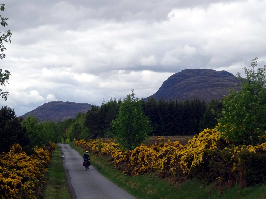 The quiet back roads were much the most enjoyable sections for a cyclist