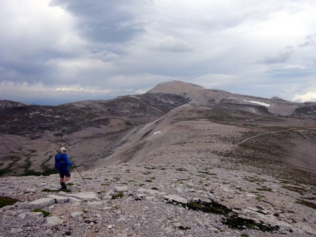 Monte Amaro is the highest point of the giant Maiella plateau, a moon-like tableland in the western side of Italy's Abruzzo region