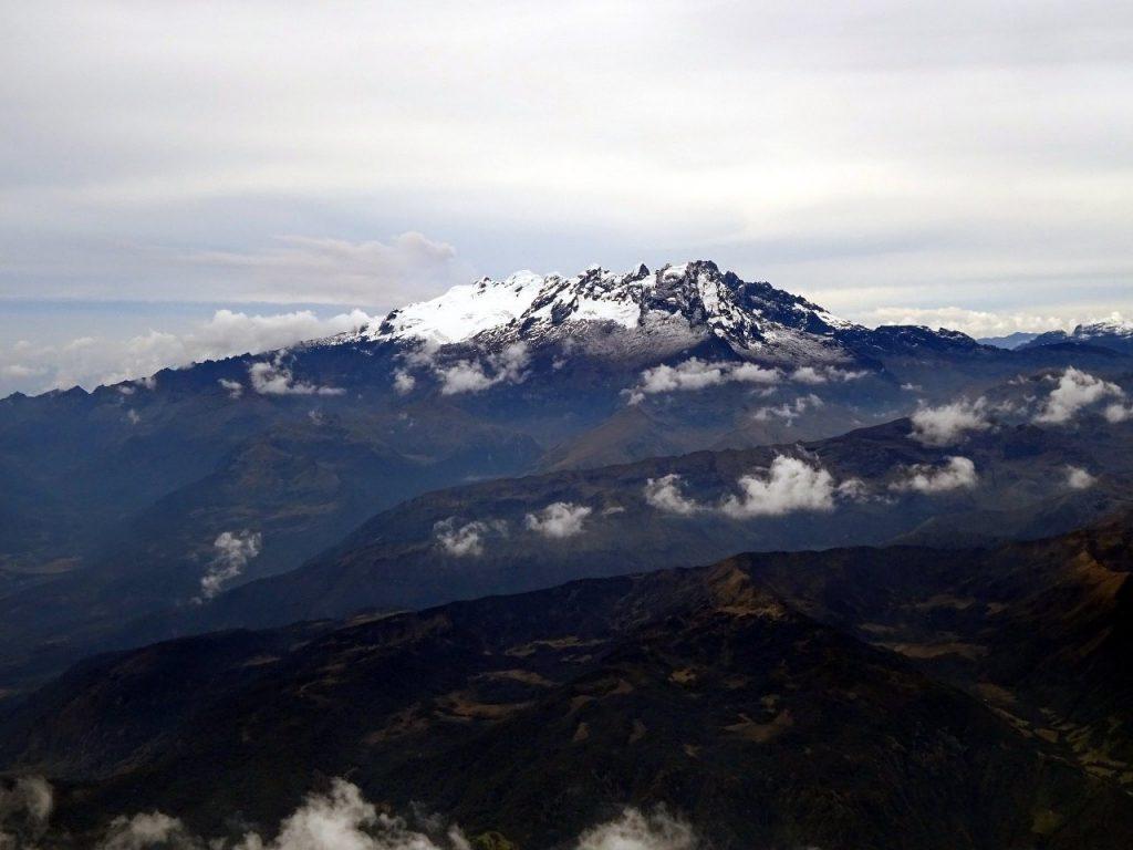 El Altar from the summit of Tungurahua