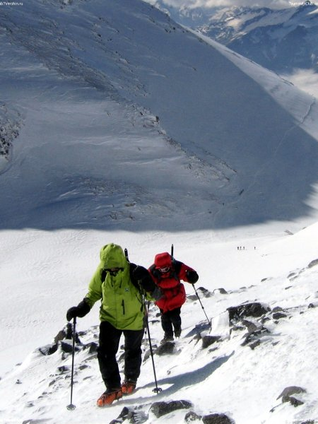 Approaching the summit of Elbrus (Photo: 7 Summits Club)