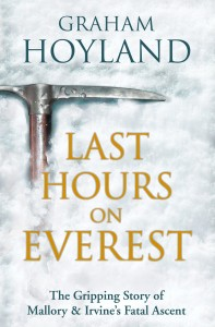 Last Hours on Everest by Graham Hoyland