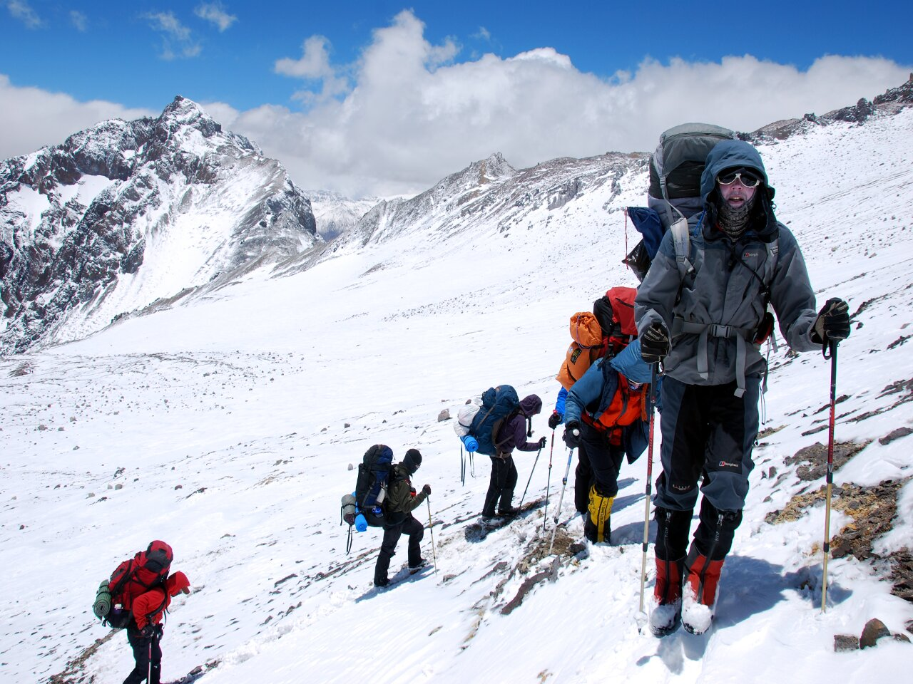 The high-altitude slow plod