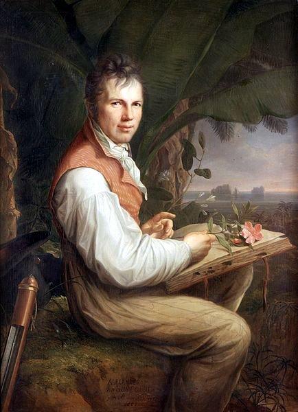 Portrait of Alexander von Humboldt by Friedrich Georg Weitsch (Picture: Wikimedia Commons)
