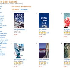 You don't have to win the Boardman Tasker Prize to be a no.1 Amazon bestseller