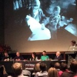 Panellists Ed Douglas, Simon Lowe, Rebecca Stephens, Dawa Steven Sherpa, Doug Scott, and chair Ben Ayers discuss the future of Everest (Photo: Natalie Armitage)