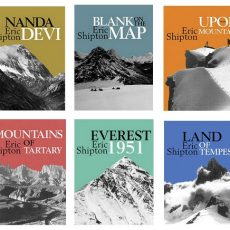 Shipton's mountain travel classics now available as sensibly priced ebooks