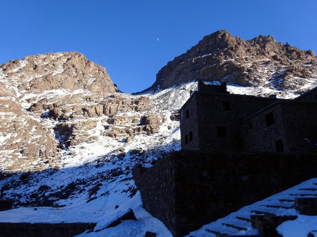 Our plan was very simple: to spend a few nights at Toubkal Refuge in the heart of the High Atlas, and bag a few 4,000m peaks as day hikes