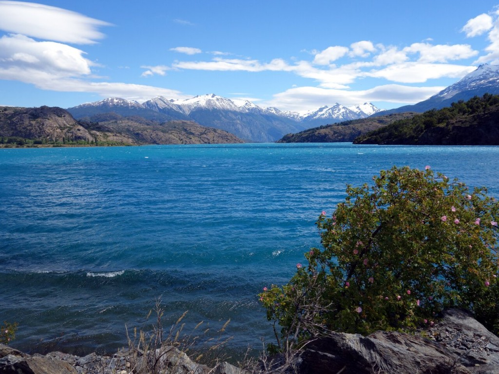 Lago General Carrera is a highlight of the Carretera Austral from Coyhaique to Cochrane