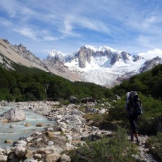Cerro San Lorenzo and the Patagonian summer