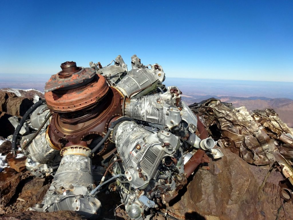 So that's what a Lockheed L-749 Constellation aircraft engine looks like