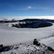 A brief introduction to Kilimanjaro's volcanic crater