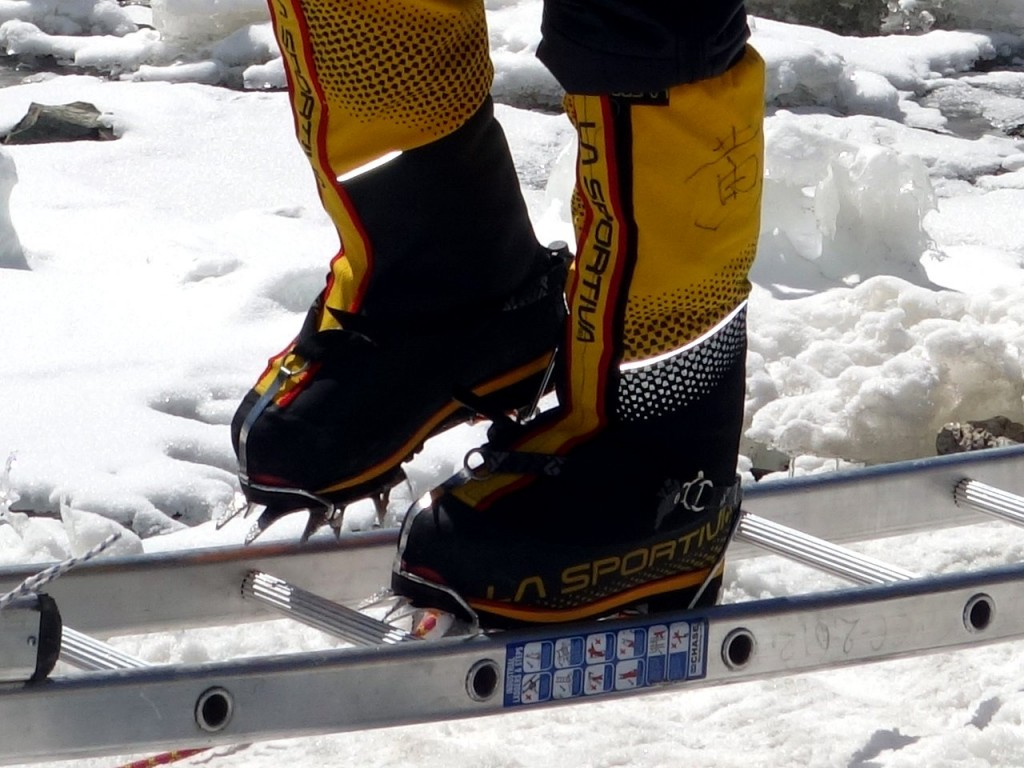 People with very big feet will no longer be allowed to climb Everest, a government spokesman has announced