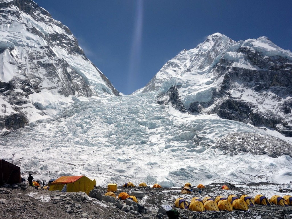 Everest can be made safer by reducing the amount of time climbers and Sherpas spend in the Khumbu Icefall