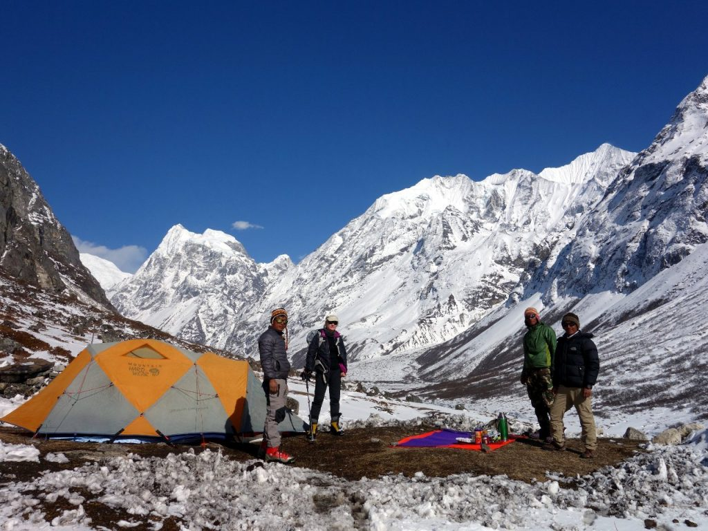 The remoter areas beyond Kyanjin Gompa are perfect territory for a longer, more remote camping trek