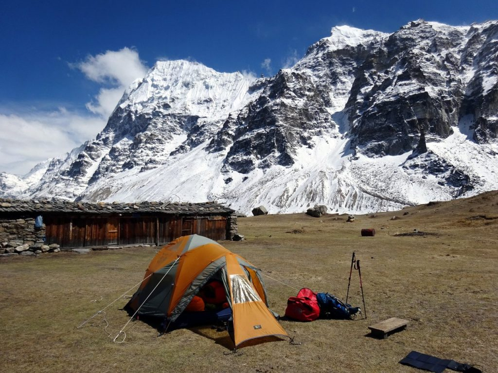 It was blissful to return to Lhonak and see our tent pitched in the sun