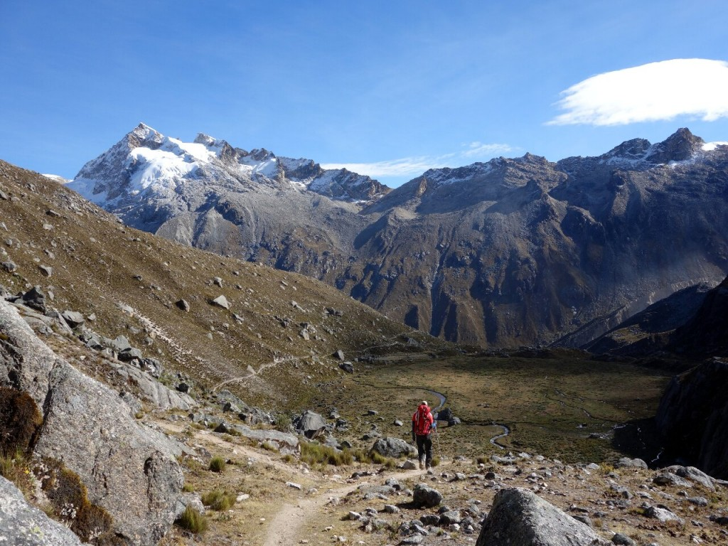 Peru's Cordillera Blanca is a playground for mountain lovers, with glorious trekking and a range of different climbing