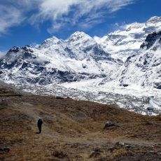 Kangchenjunga base camp trek: Pangpema and the north side