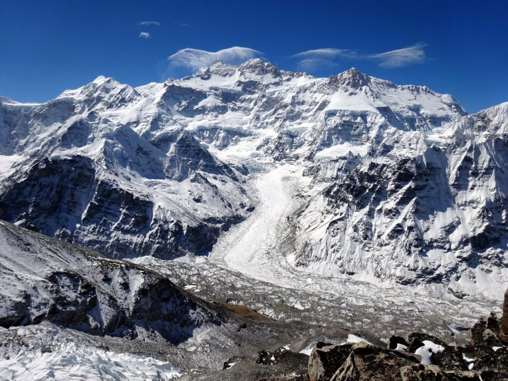 The north face of Kangchenjunga - I was long overdue a visit