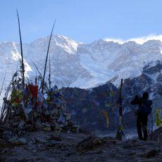 Kangchenjunga base camp trek: Oktang and the south side