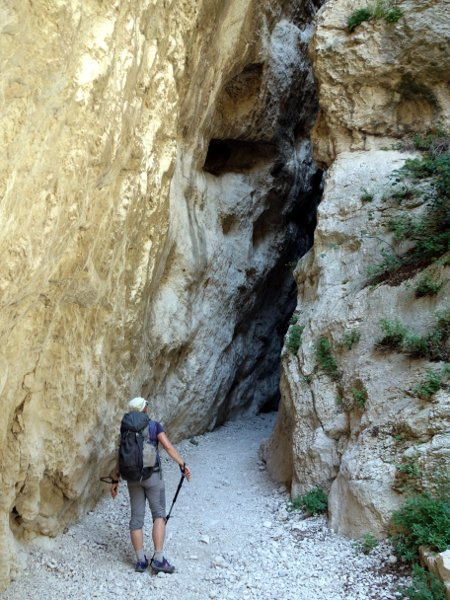 The secret entrance to the San Spirito Gorge
