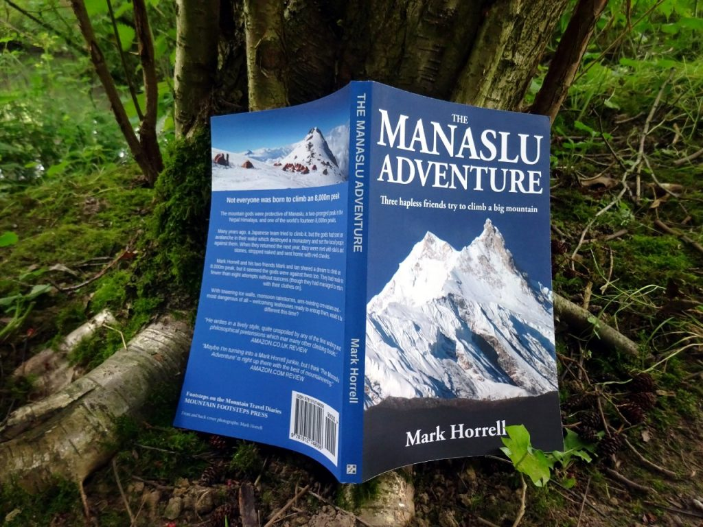 The paperback of The Manaslu Adventure is available now