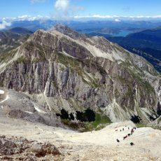 The Corno Grande and Corno Piccolo traverse