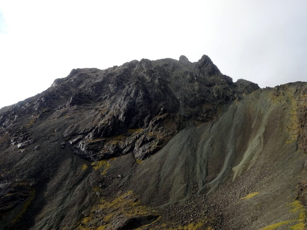 Sgurr Dearg, with the Inaccessible Pinnacle and An Stac crowning its side