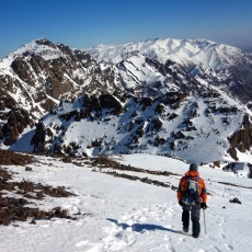 Toubkal and Ouanoukrim: a High Atlas winter wonderland