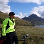 Me on the Inverpolly road, with Cul Beag behind