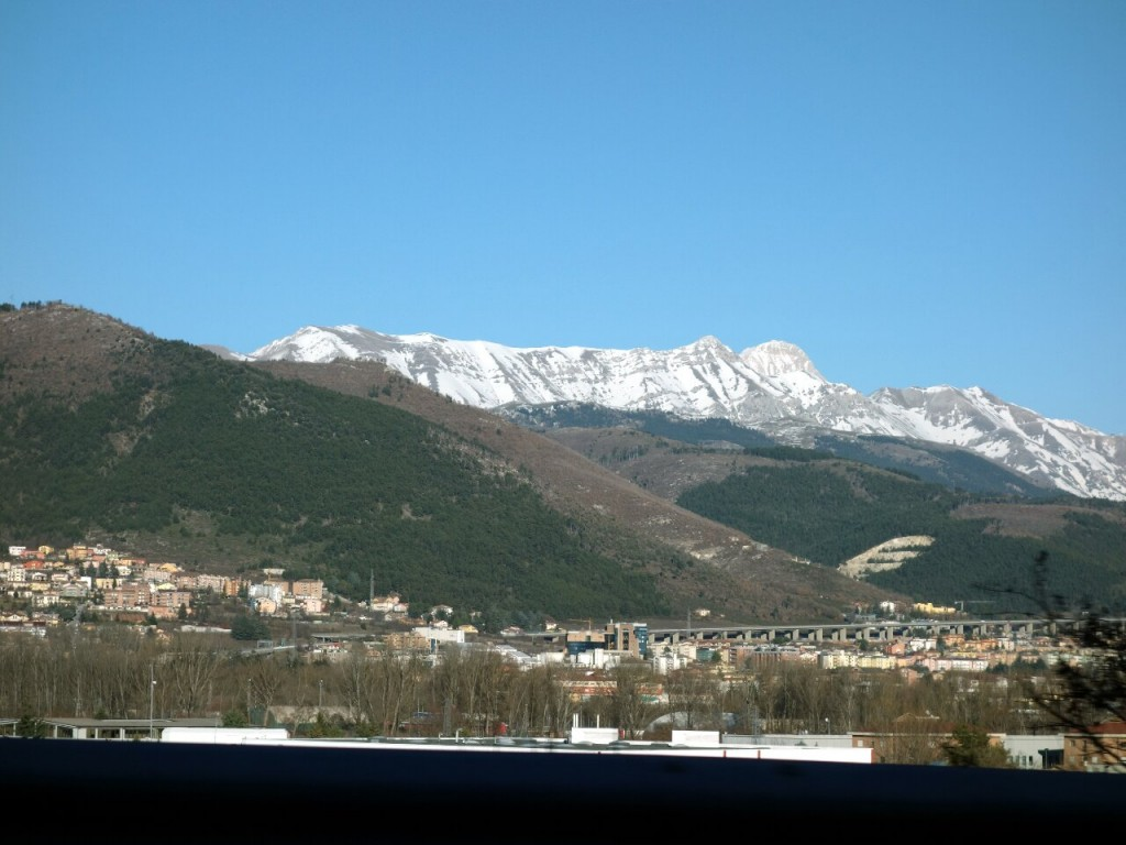 Gran Sasso is not just a single mountain, but a whole massif rising above the town of L'Aquila