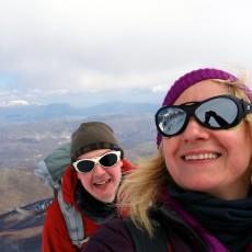 Trailblazing up Monte Sirente