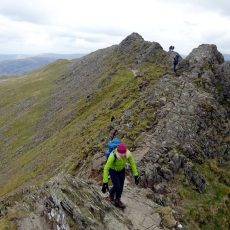 The Helvellyn and Fairfield Horseshoe via Striding Edge