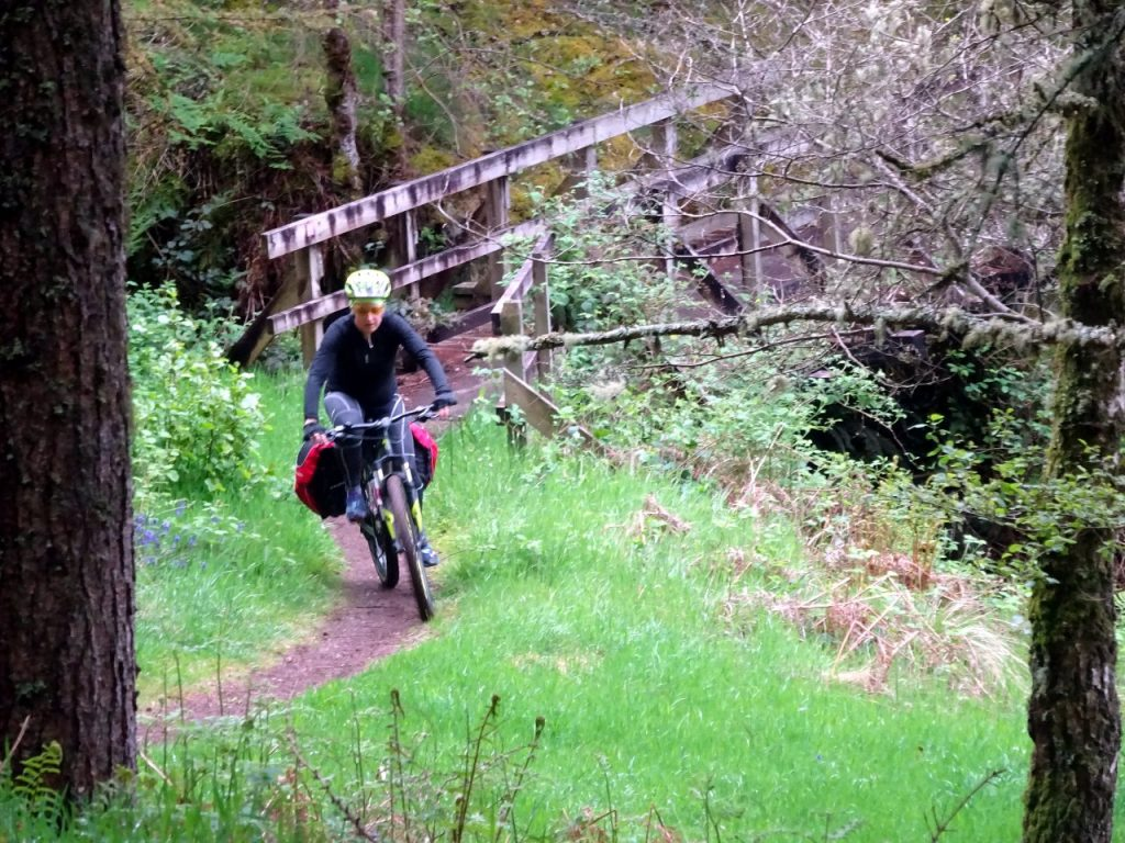 These trails weren't meant for cyclists