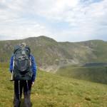 Gazing at Aran Fawddwy and Creiglyn Dyli from a nearby hillside