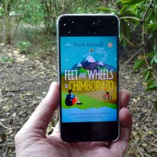 Feet and Wheels to Chimborazo: e-book available now to pre-order