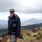 Me on the summit of Fuya Fuya (4,258m)